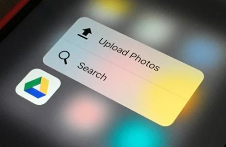 Google Drive, 3D Touch Desteğine Kavuştu!