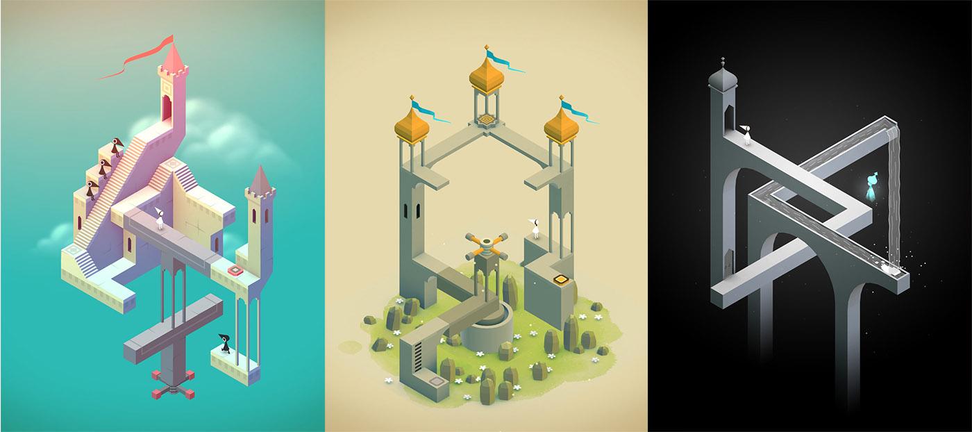Monument Valley Oyunu iOS için Artık Ücretsiz!