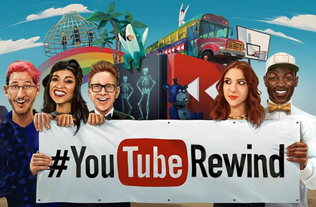 YouTube'un Gözünden 2015, YouTube Rewind