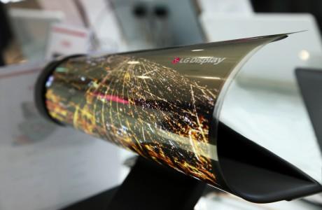LG Esnek OLED Ekranları CES 2016'da Sergileyecek