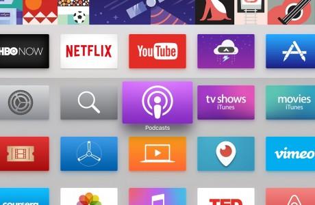 Apple TV için tvOS 9.1.1 Yayınlandı! PodCasts Uygulaması Geldi!