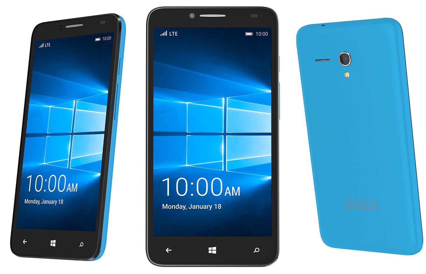 Yeni Fierce XL : Büyük ve Ucuz Windows 10 Mobile Cep Telefonu