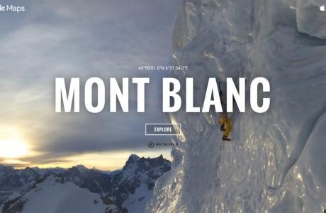 Google Street View Mont Blanc, Avrupanın Zirvesine Giden En Kısa Yol