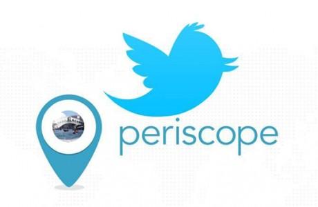 Periscope Yayınlarını Artık Twitter Üzerinden Paylaşılıyor!