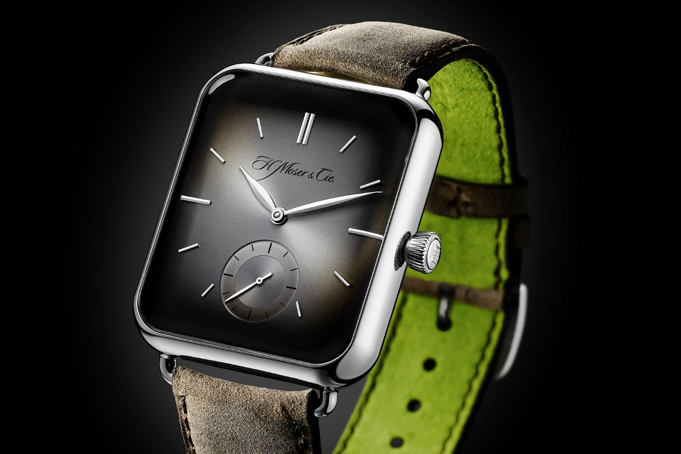 Mekanik Apple Watch 'Swiss Alp Watch'