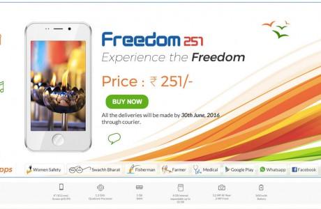 Dünyanın En Ucuz Android Telefonu Freedom 251
