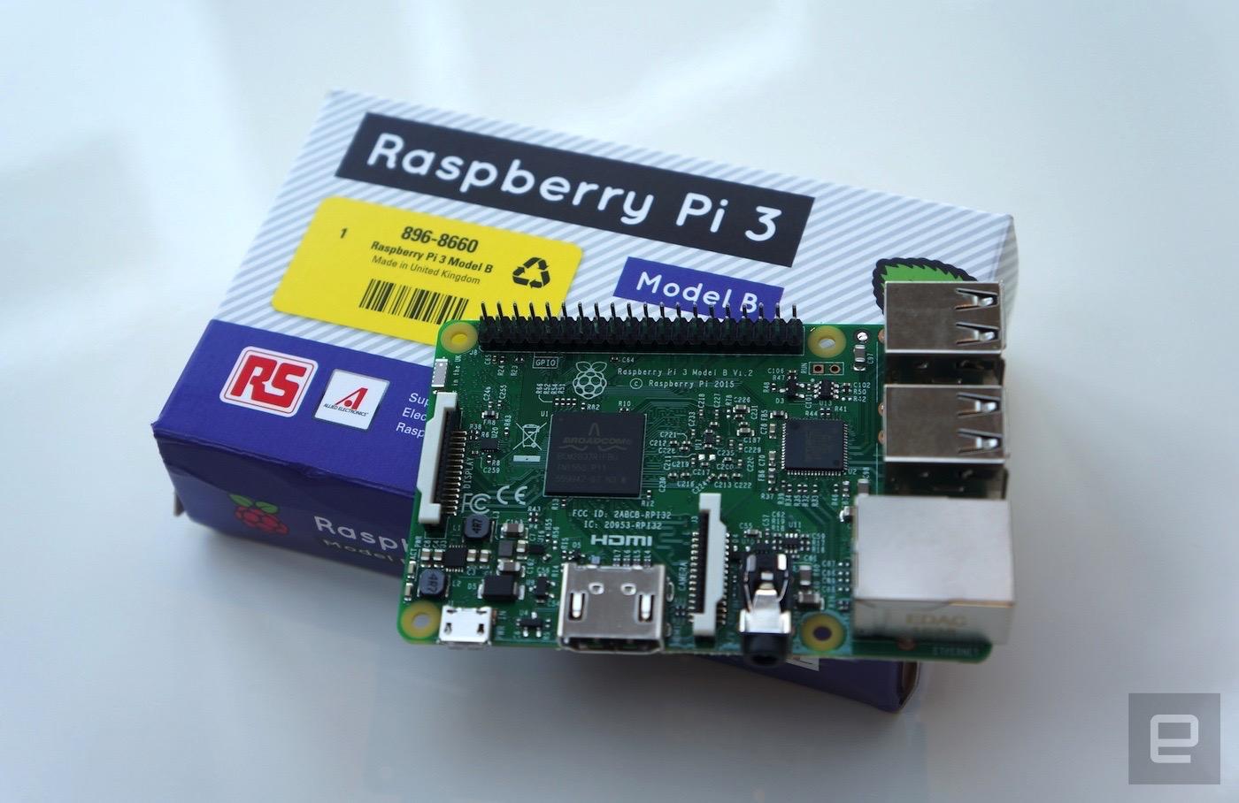 Raspberry Pi 3 64Bit ve WiFi Destekli