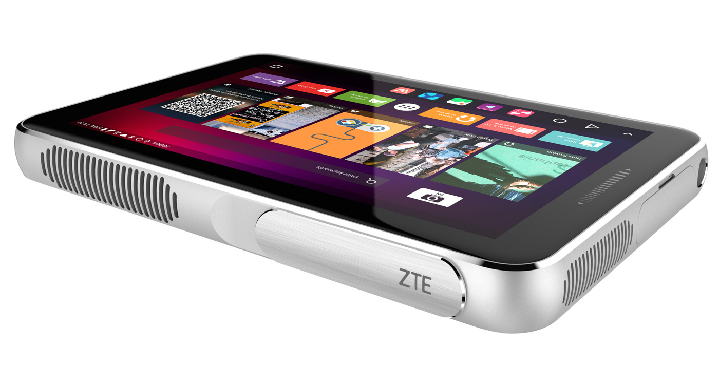 ZTE'nin Android Projektör Tableti Spro Plus