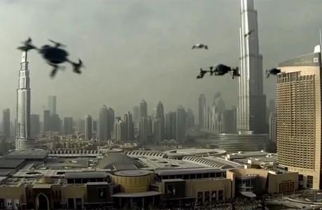 ilk World Drone Prix 11 Mart'ta Dubai'de