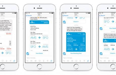 Facebook Messenger ilk Havayolu Bot Uygulaması Başladı!