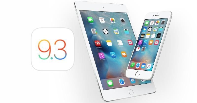 Apple, iOS 9.3.3 ve macOS 10.11.6 Yayınlandı!