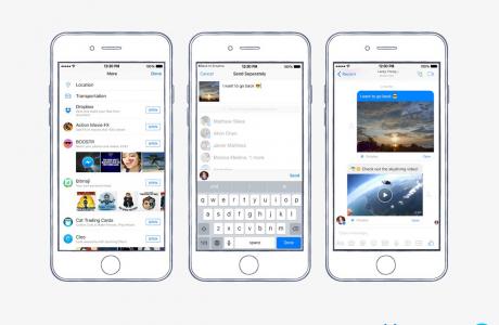 Facebook Messenger Dropbox Dosyalarını Kolayca Paylaştıracak