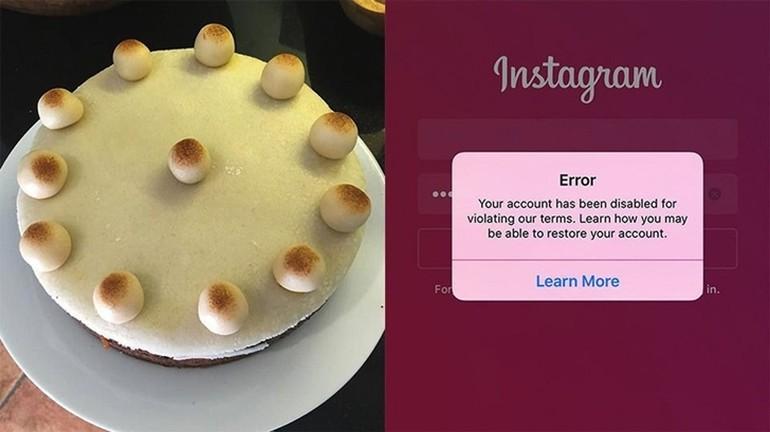 """Instagram Bu Pastayı """"Kadın Göğsü"""" Sandı ve ?"""