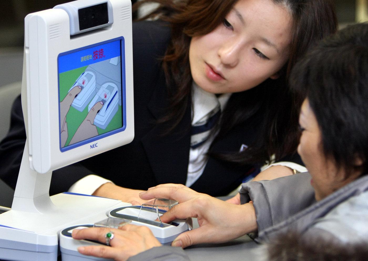 Parmak İzi Ödeme Sistemi : Japon Hükümeti Teste Onay Verdi