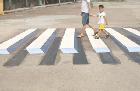 3 Boyutlu Sanal Hız Kesiciler Yolları Daha Güvenli Hale Getiriyor!