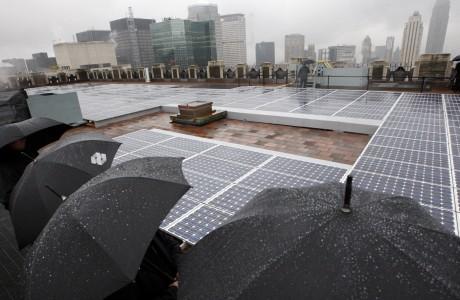 Yağmur Damlasından Enerji Üretimi
