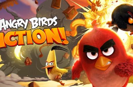 Angry Birds Action! BirdCode Şifreleri Oyunun Kilidini Açıyor!