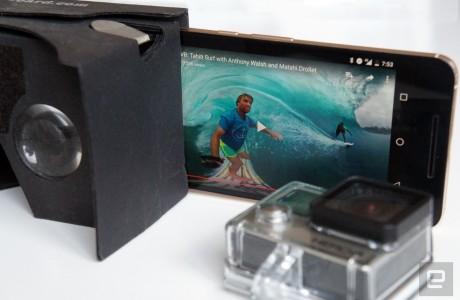 GoPro Sanal Gerçeklik Paketini Duyurdu