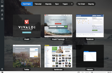 YepYeni Web Tarayıcı Vivaldi Hazır!