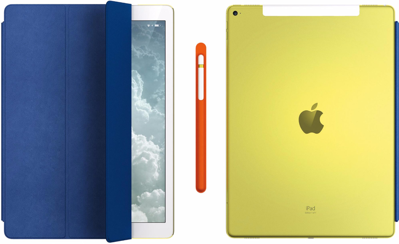 Apple'ın Jesti Sarı iPad Pro