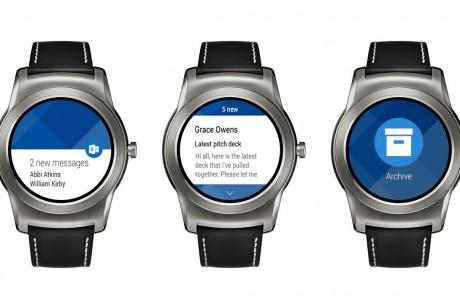 Outlook Android Wear Desteği Nihayet Geldi!