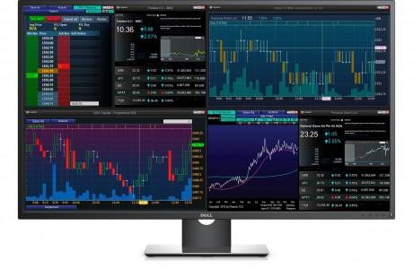 Finans Sektörü için Dell 43-inç Multi Client 4K Monitör
