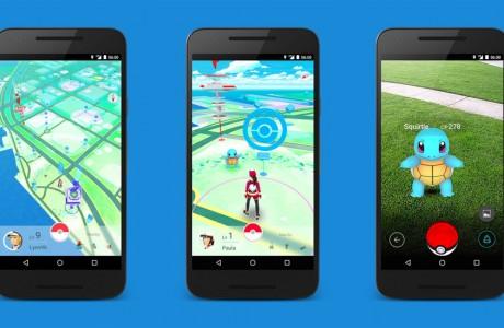 Pokemon Go Artırılmış Gerçeklik Oyunu