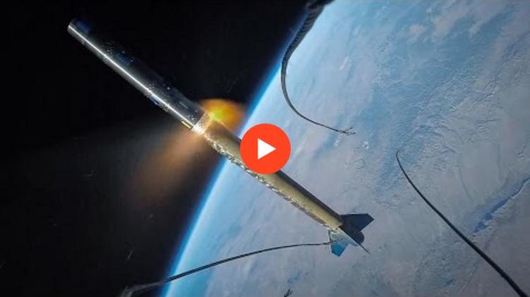 GoPro Roket Üzerine Yerleştirildi, Muhteşem Görüntüler