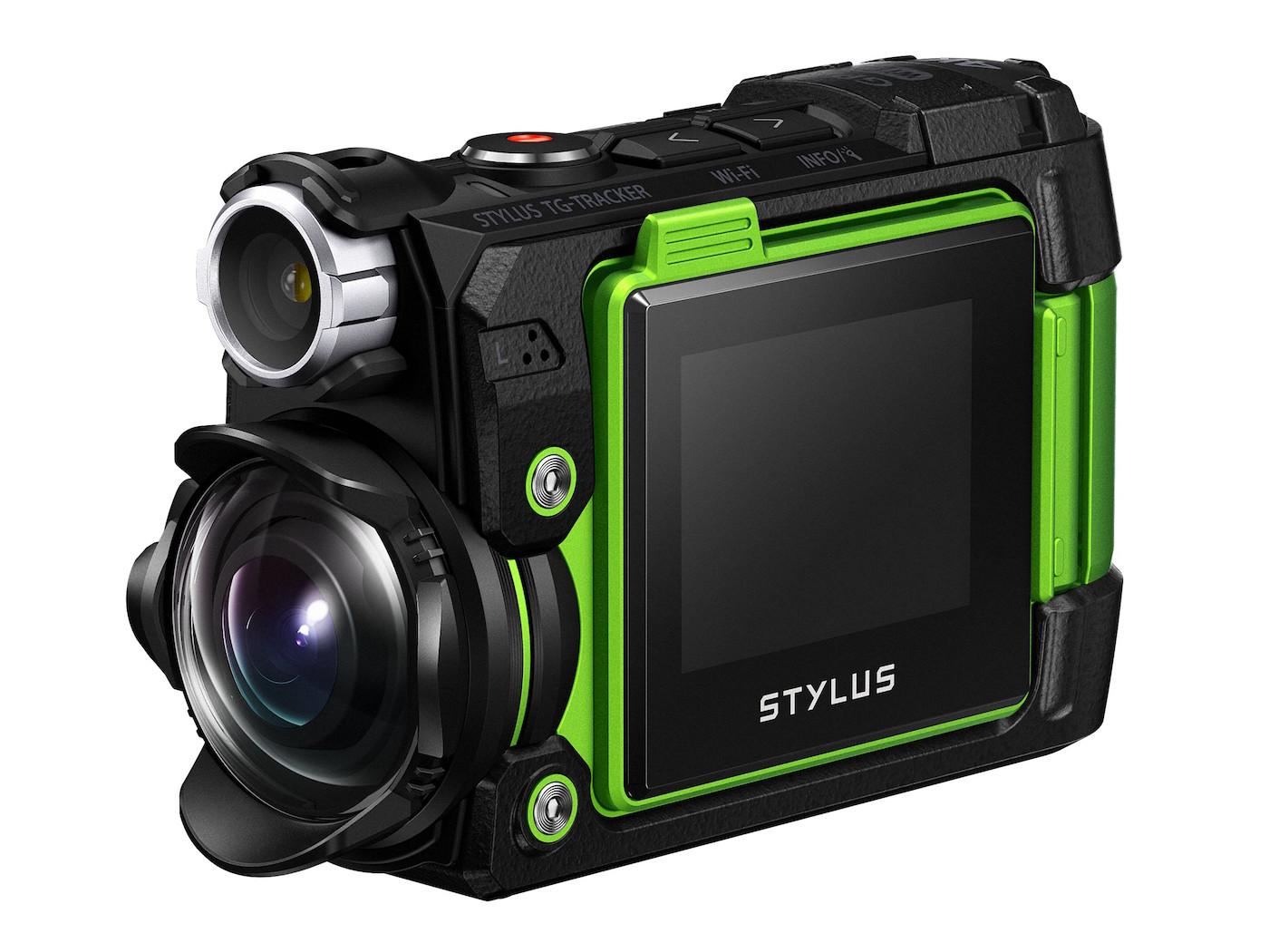 Olympus Stylus TG-Tracker ile Aksiyon Kamera Yarışına Katıldı