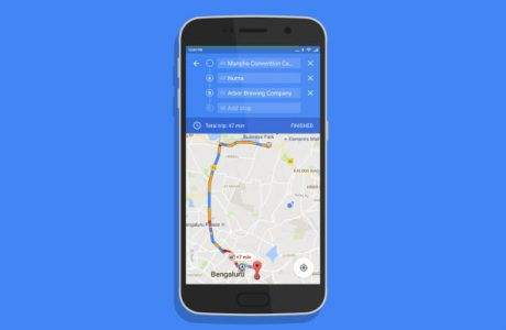 Google Map Android,Birden Fazla Yol Seçeneği Eklendi!