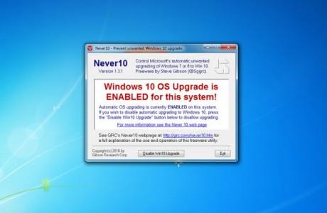 Windows 10 Güncellemesine ilk Dava, Windows 10'u Hiç Duymadım!