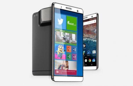 7-inç FrankenPhone Android,PC Windows ve Projektör