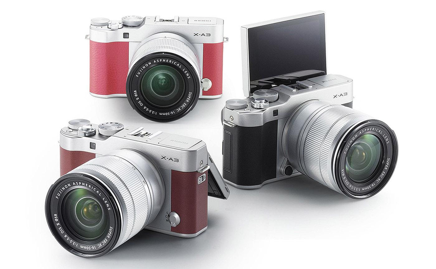 Fujifilm X-A3 : Yeni Selfi Oyuncağı