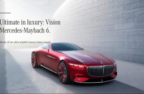 Mercedes Maybach 6 ile Lüks Otomobillerin Geleceğine Bakın!