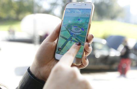 Pokemon Go'ya Ben Bir Yolcuyum Düğmesi