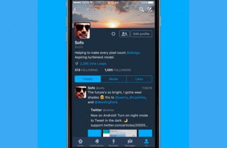 Twitter Gece Modu iOS Kullanıcıları için Geldi!