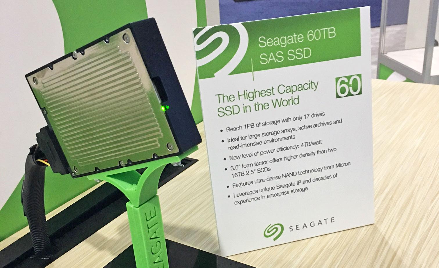 Seagate Veri Merkezleri için 60TB SAS SSD Duyurdu!