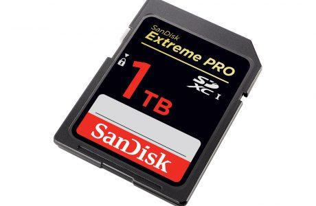 Dünyada bir ilk Sandisk 1TB SD Card Yakında!