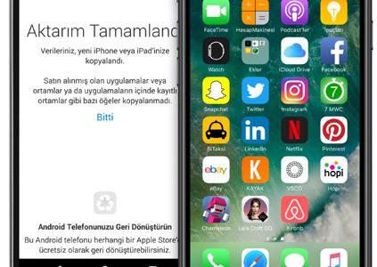Android'den iOS 10'a Geçmek Çok Kolay