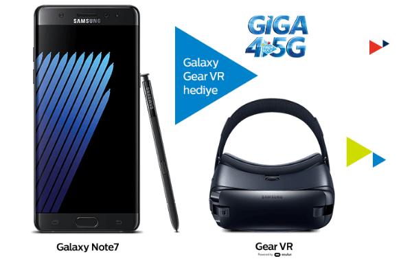 Türk Telekom'dan Önemli Galaxy Note 7 Açıklaması