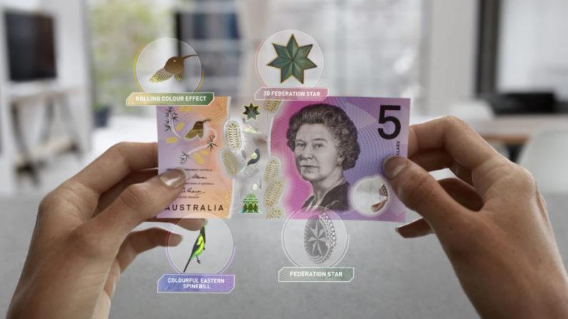 Yeni 5 Avusturalya Doları, Kalpazanlara Karşı Alınan Yeni Önlemler