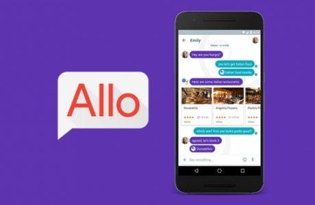 Google Sohbet Uygulaması Allo'yu Yayınladı!