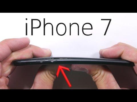 iPhone 7 Dayanıklılık Testi, iPhone 7 Bükülüyor mu?