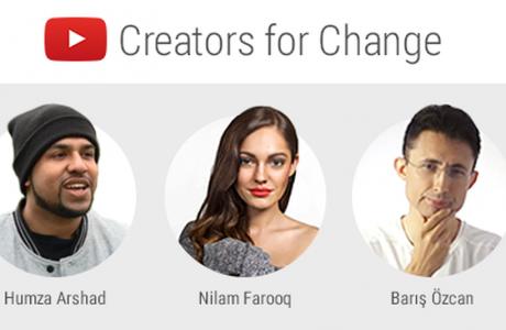 1M Dolarlık YouTube Değişim Yaratıcıları Projesinde Bir Türk