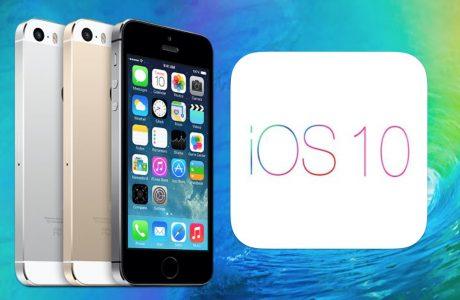 iOS 10 iPhone 5'e Yaradı, Batarya Daha Verimli Hale Geldi!
