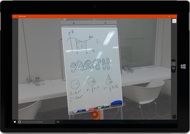 Windows 10 için Office Lens Uygulaması Office 365 Desteğiyle Yayımlandı