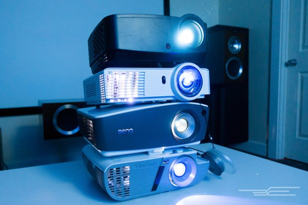 cheap projectors group testing