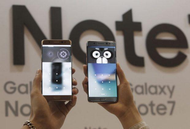 Telefonları Kapalı Tutun Uyarısı Galaxy Note 7
