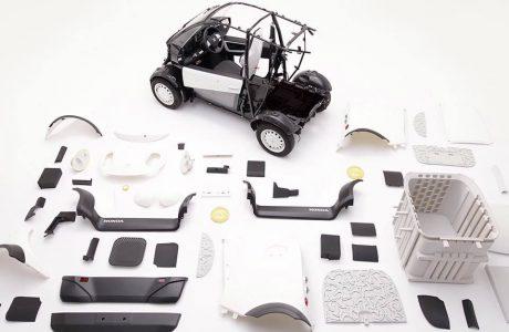3 Boyutlu Yazıcıyla Honda Mikro Elektrikli Otomobil