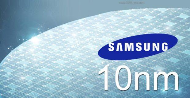 Samsung 10 nanometre işlemci